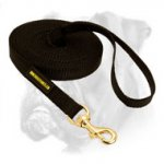 All Weather Nylon Boxer Leash for Training