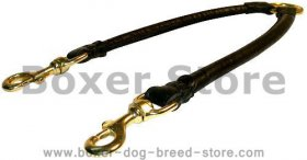 Double Dog Leash Coupler for two dogs-Boxer LEADS - 10 mm