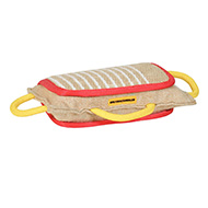 Dog Bite Jute Pad with 3 Handles for Efficient Training for Boxer