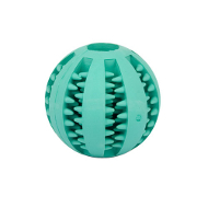 Bright Blue Rubber Ball for Better Dental Hygiene for Small Boxer