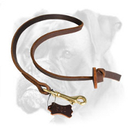 Professional Pocket Leather Boxer Leash