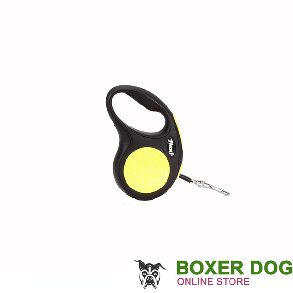 Convenient Flexi Retractable Dog Lead for Walking