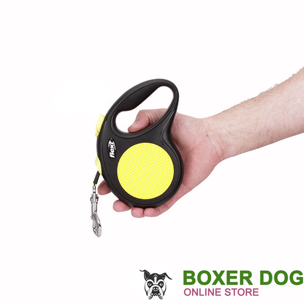 Everyday Retractable Leash Neon Style for Total Safety