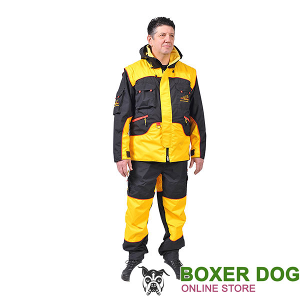 Protection Dog Training Bite Suit of Waterproof Membrane Material