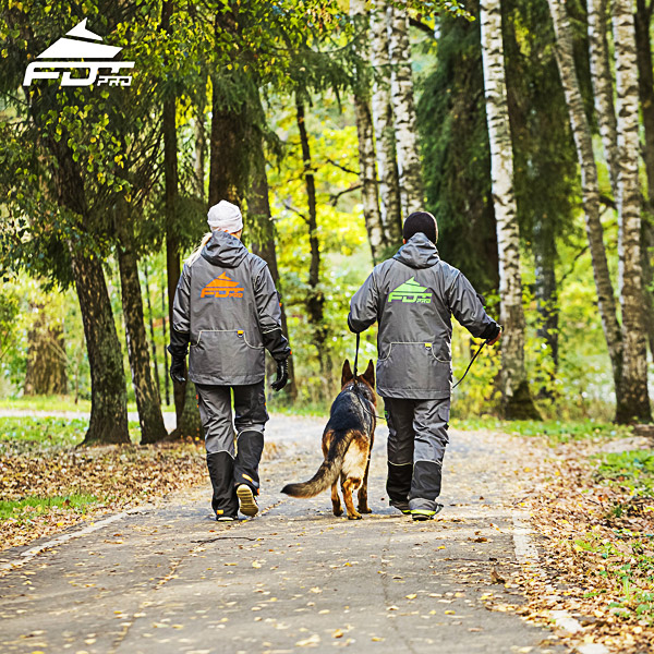 Professional Dog Training Jacket of High Quality for Any Weather