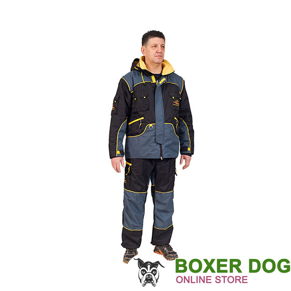 Weatherproof Protection Dog Bite Suit for Comfy Workout