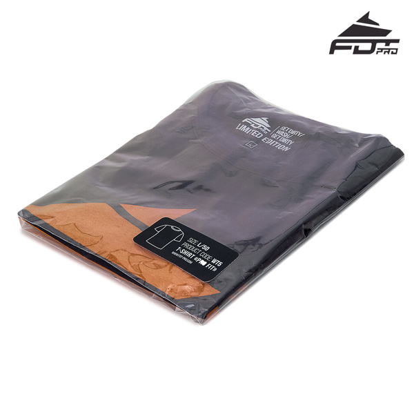 Prepacked FDT Pro T-shirt Dark Grey Color