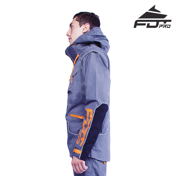 FDT Professional Dog Trainer Jacket of Top Quality for All Weather
