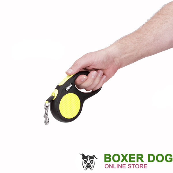 Ergonomic Designed Flexi Dog Leash for Safe Walking