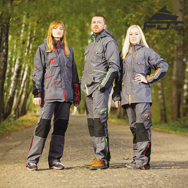Reliable Dog Training Suit for All Weather Conditions
