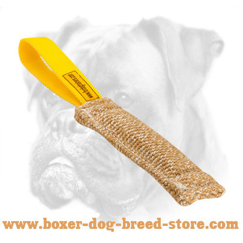 Boxer Soft Bite Tug For Puppy Training