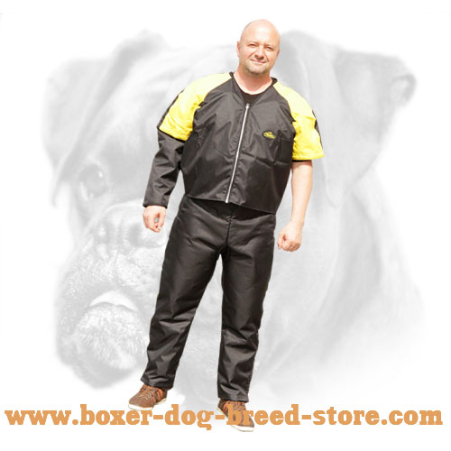 Reliable scratch suit for protection while heavy-duty training