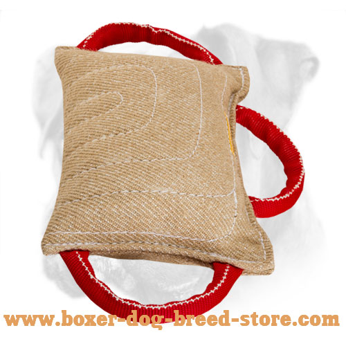 Durable Boxer Bite Pad of Jute