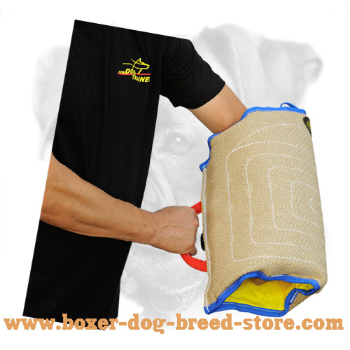 Puppy Boxer Sleeve of Jute Material