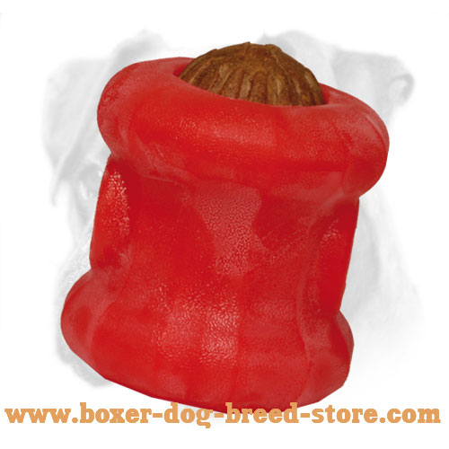 Unmatchable Boxer Chewing Toy for Treat Dispensing