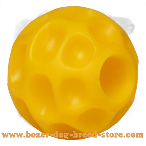 High-End Boxer Tetraflex Ball for Kibble Dispensing