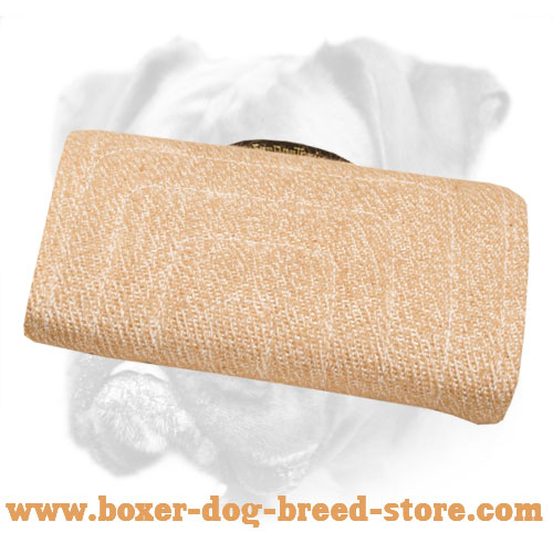 Jute Dog Bite Builder for Young Dogs and Puppies Training