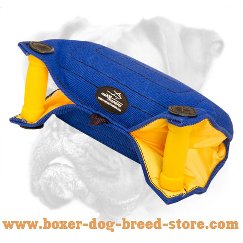 French Linen Dog Bite Builder for Young Dogs and Puppies Training
