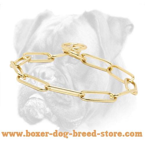 First Class Boxer Collar of Brass