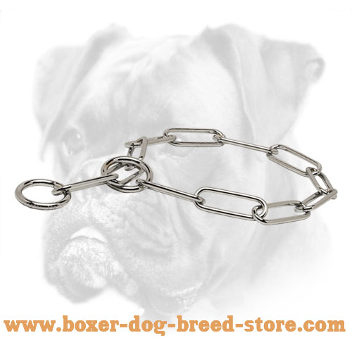 Trendy Boxer Collar of Stainless Steel