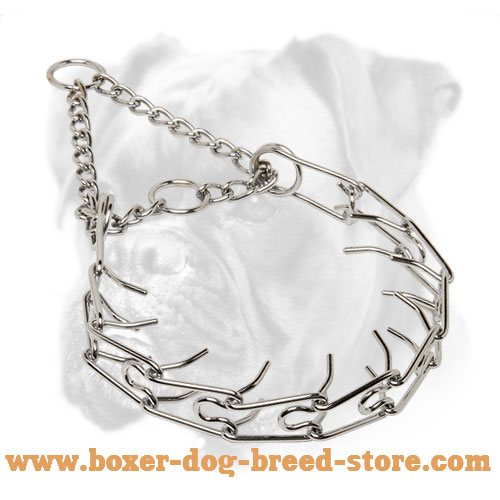 Firm Boxer Collar of Rust-resistant Material