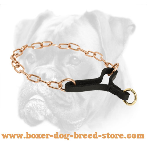 New Boxer Collar of Reliable Material