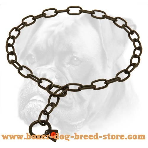 Multimode Boxer Metal Collar of Safe Material