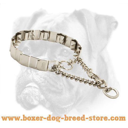 Steel Boxer Collar for Behavior Correction