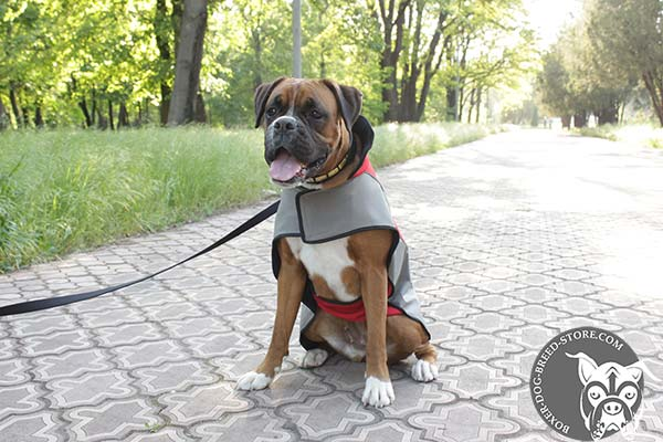 Long-lasting nylon Boxer coat