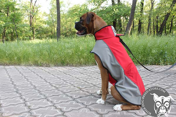 Warm nylon Boxer coat