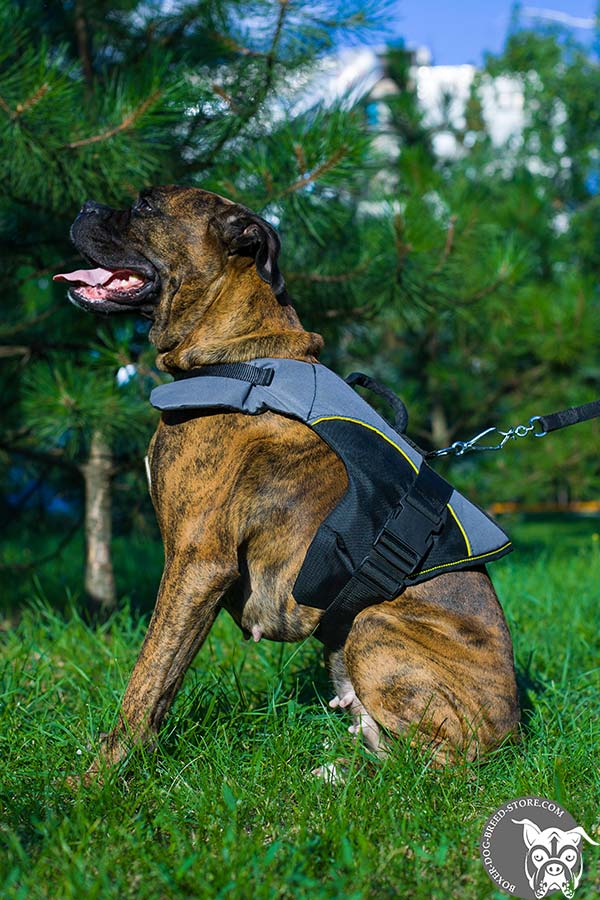 Lightweight nylon Boxer vest for rehabilitation