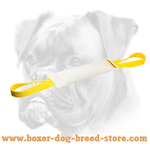 Fire Hose Dog Bite Tug With Handles for Boxer
