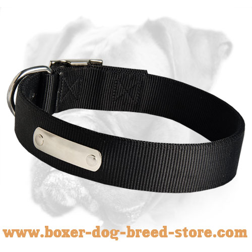 Luxurious 2 Ply Nylon Collar for Your Boxer