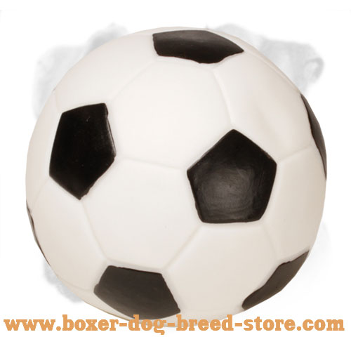 Rubber Boxer Bite Ball for Football Fans