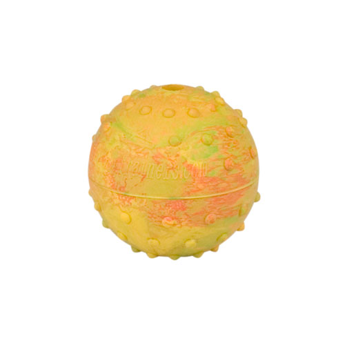 Rubber Squeaky Ball Dog Toy for Boxer