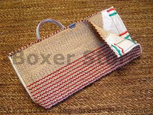 Boxer bite sleeve cover made of jute with handle