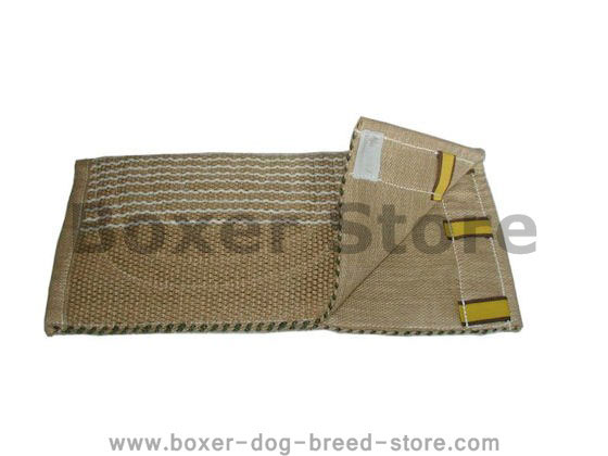 Jute Bite Sleeve Protector with comfy handle for Boxer