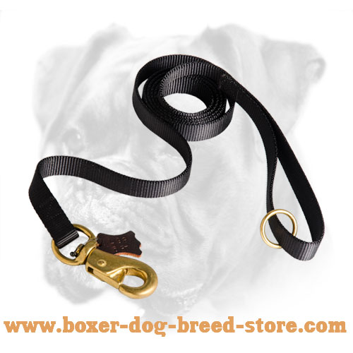 Boxer Dog Leash made of strong Nylon