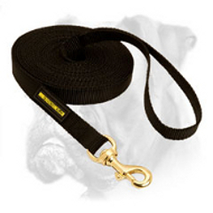 Training nylon leash for Boxer